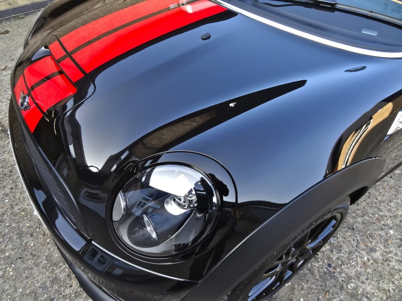mini cooper with nano coating
