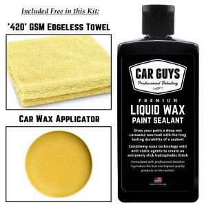 Car Guys paint sealant