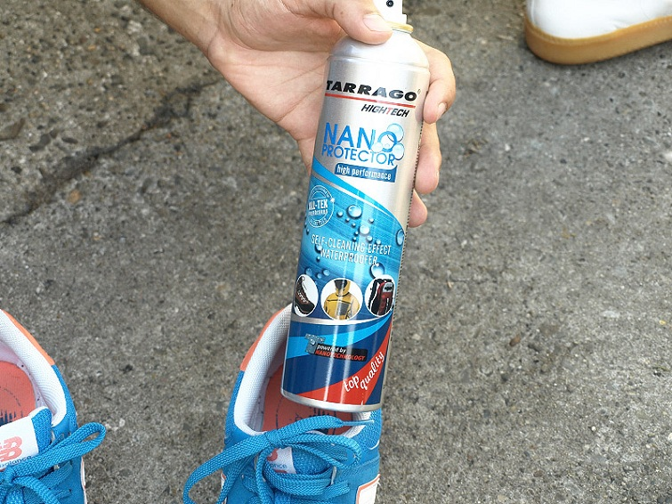 Terrago Spray Usage On New Balance Shoes