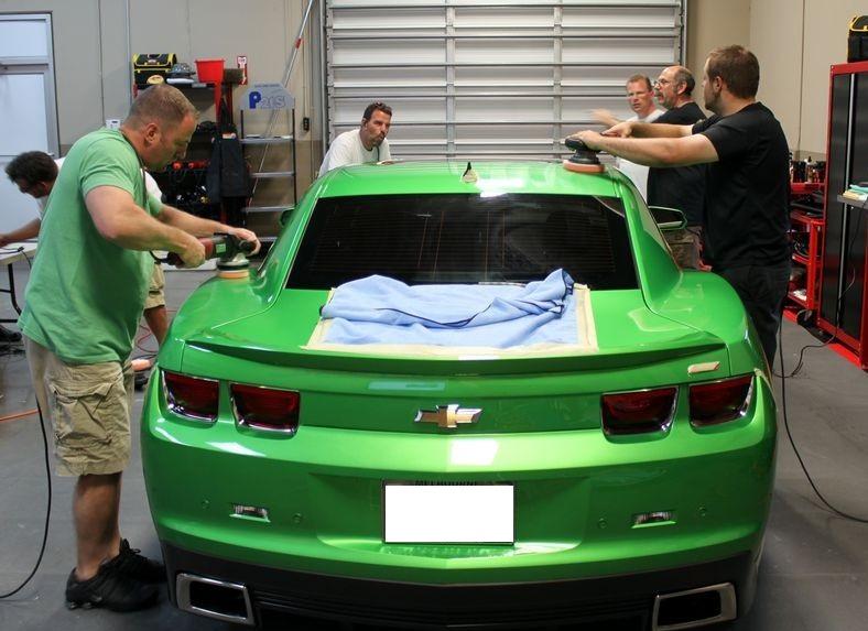camaro polishing