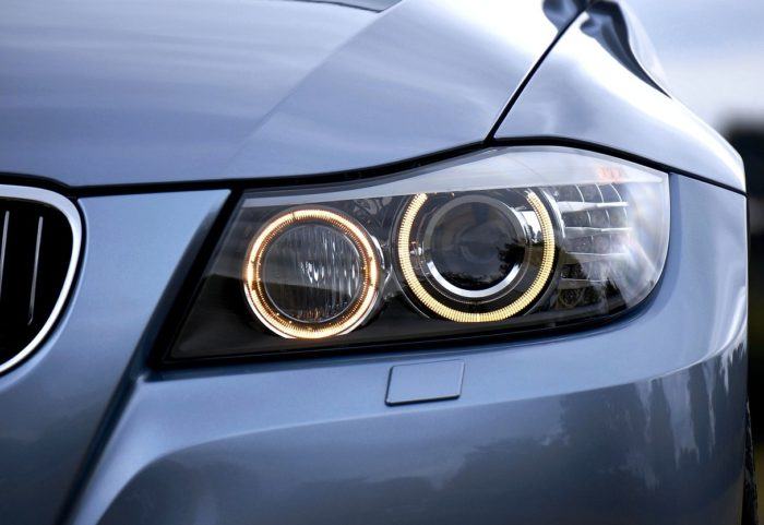 bmw headlights cleaning